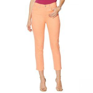 NWT DG2 by Diane Gilman Skinny Jeans 2 Coral